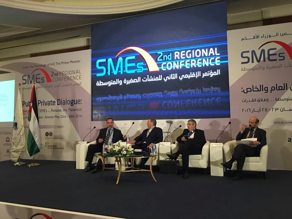 Improving Public-Private Dialogue and Empowering SMEs in Jordan